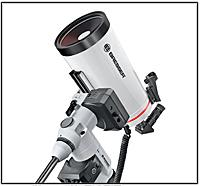 Abb. 60: Spiegelteleskop für  Fortgeschrittene, Bauart Maksutov-Cassegrain