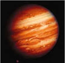 Jupiter photographed from the Voyager 1 space probe / NASA