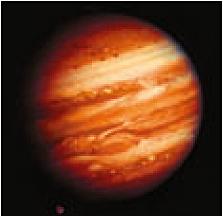 Abb. 21: Jupiter, fotografiert von der Raumsonde Voyager 1/NASA