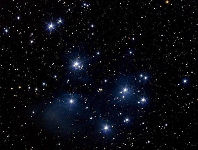 M45 Pleiades with DSLR