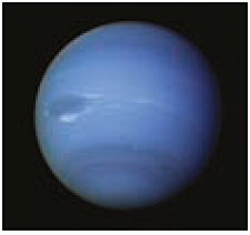 Neptune. The image originates from the NSSDC / NASA database.