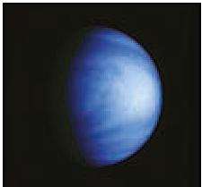 Abb. 18 Venus, fotografiert von der US-Raumsonde Galileo/NASA