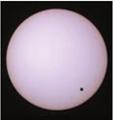 Venus an Sonne