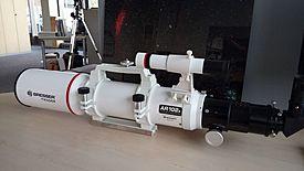 Test Bresser Entfernungsmesser : Testbericht zu bresser messier ar 102s 600 hexafoc optischer tubus