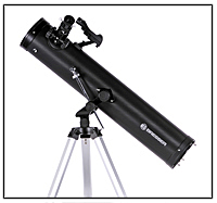 Fig. 59: El telescopio reflector, diseño Newton.