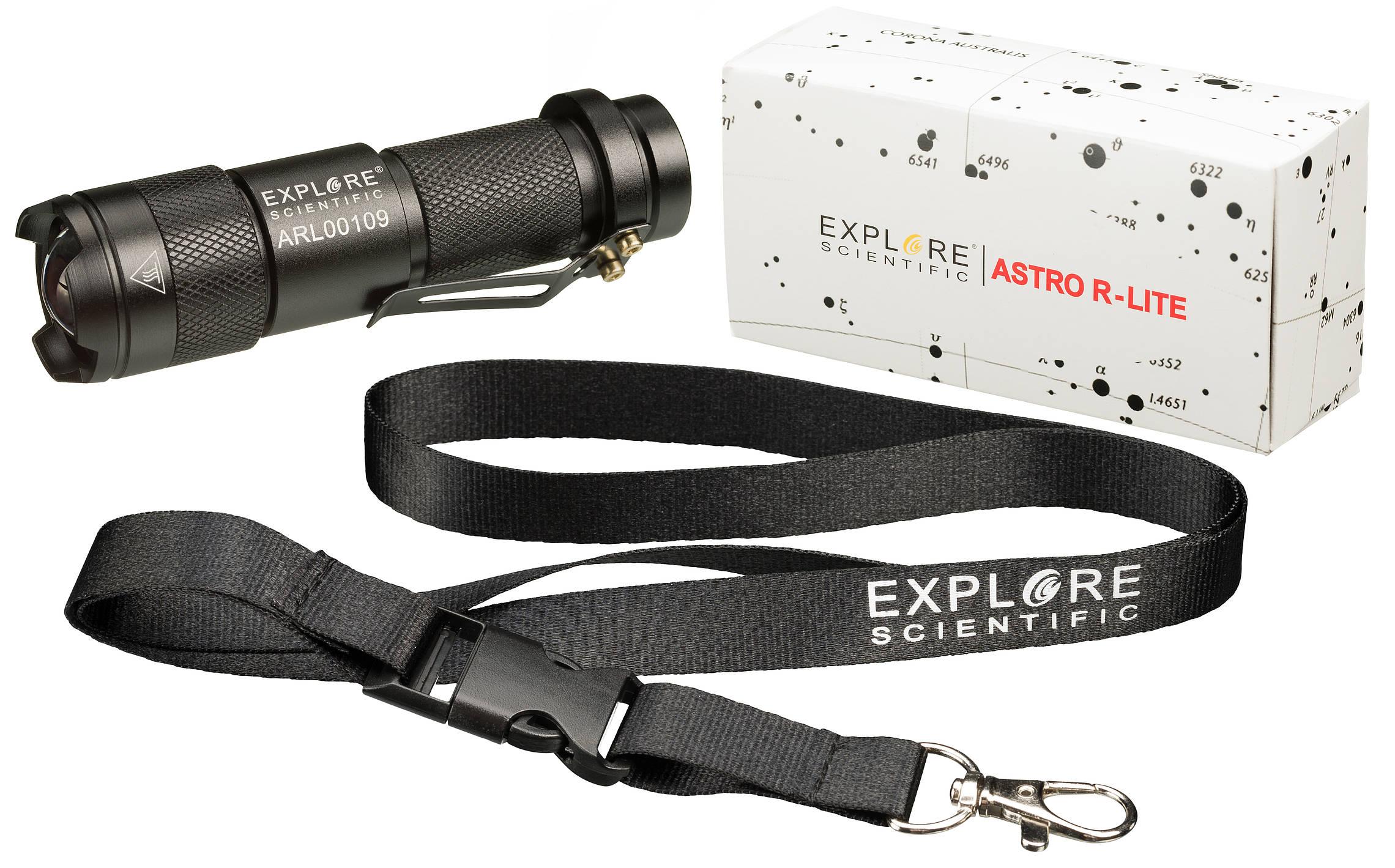 Explore Scientific ASTRO R-LITE red light Flashlight