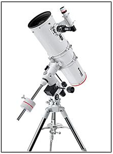 Abb. 10: Ein Spiegelteleskop der Bauart Newton-Reflektor.