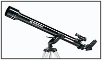 Fig. 63 Un telescopio con montaje de tipo acimut.