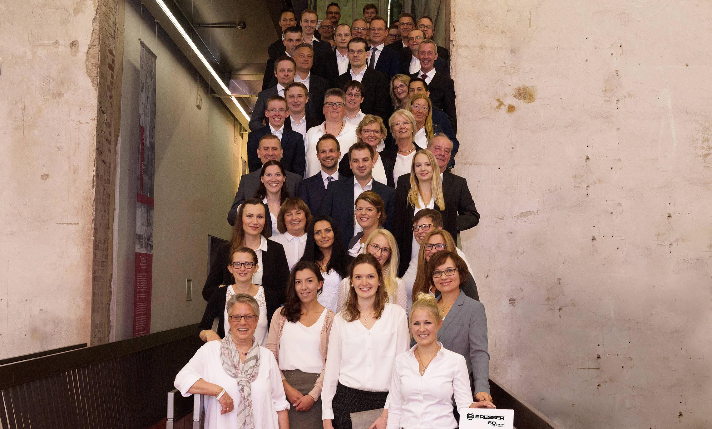 Mitarbeiter der Bresser GmbH