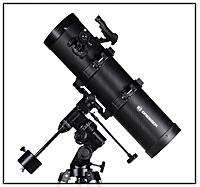 Abb. 64: Ein parallaktisch montiertes Teleskop