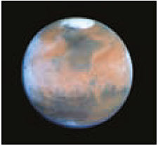 Mars photographed by the Hubble space telescope / NASA