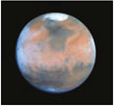 Abb. 20: Mars, fotografiert mit dem Hubble Space Teleskope/NASA