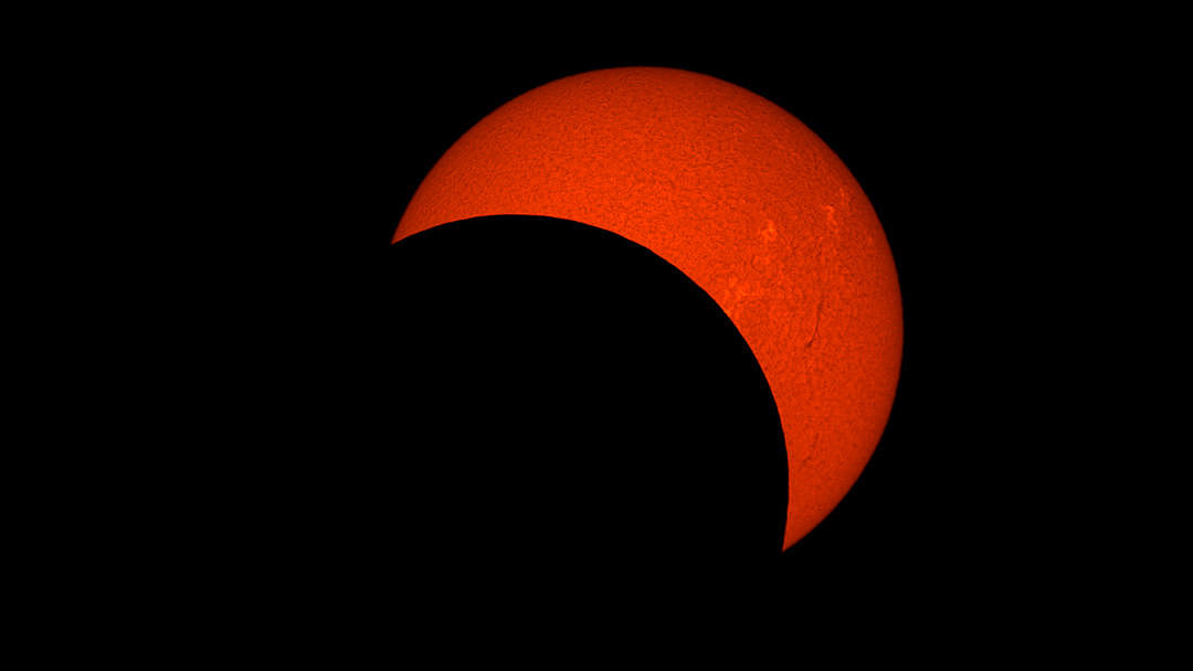 Éclipse solaire en Indonésie