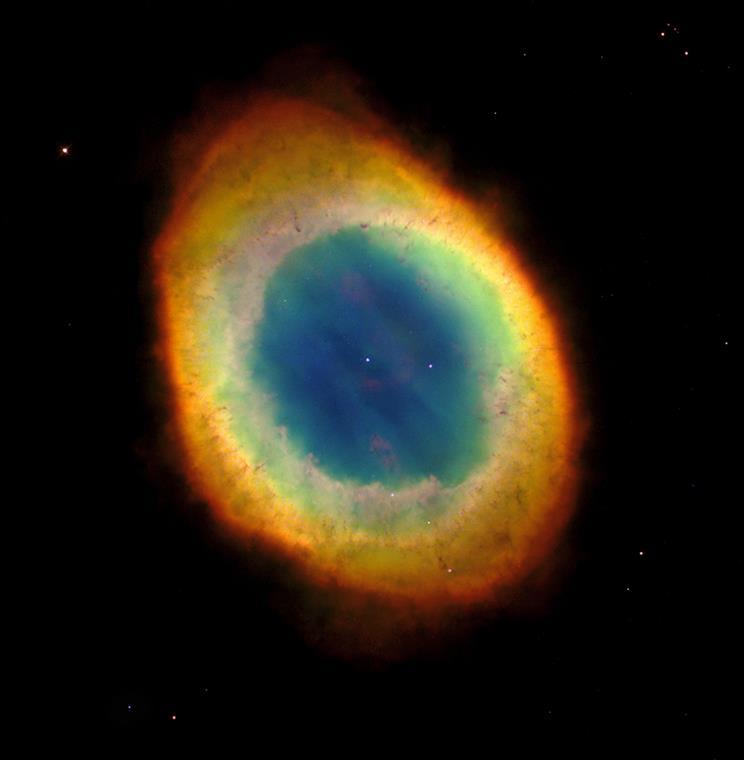 M57 - HST Bild.