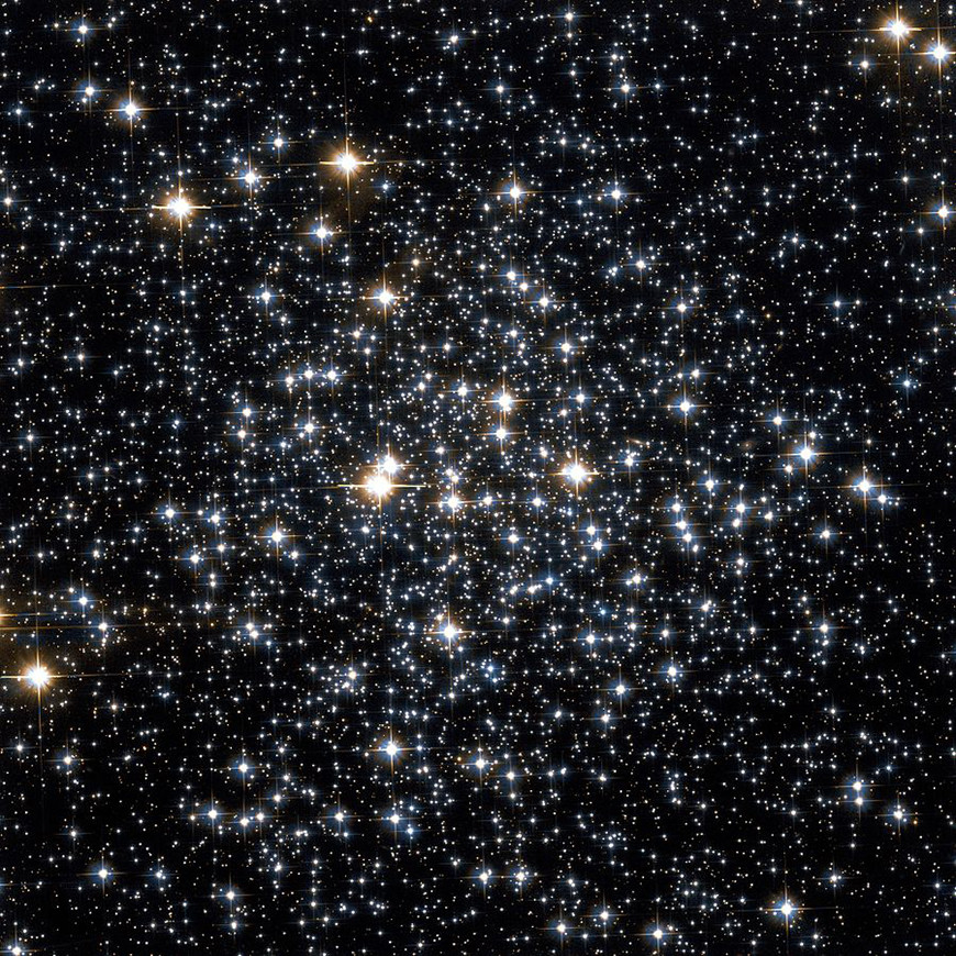 M71, loser Sternhaufen