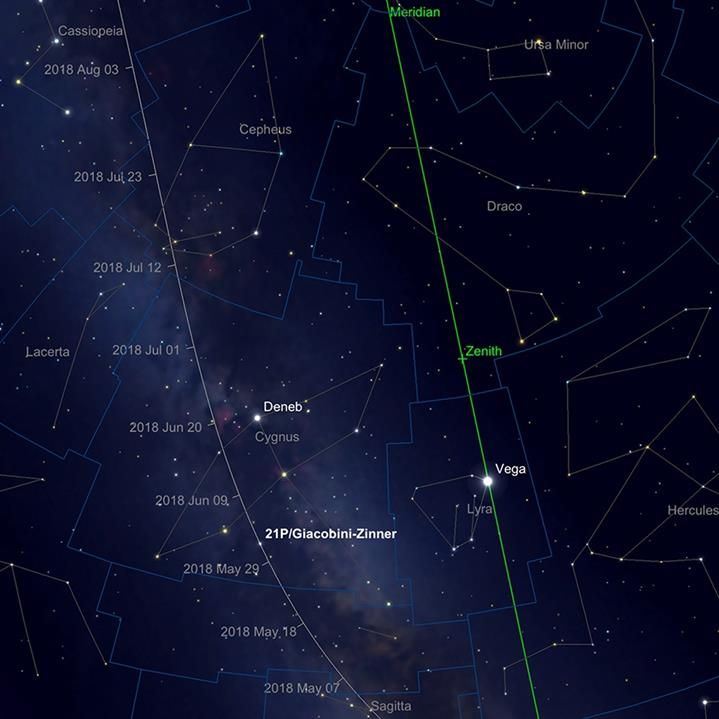 Comet Giacobini-Zinner