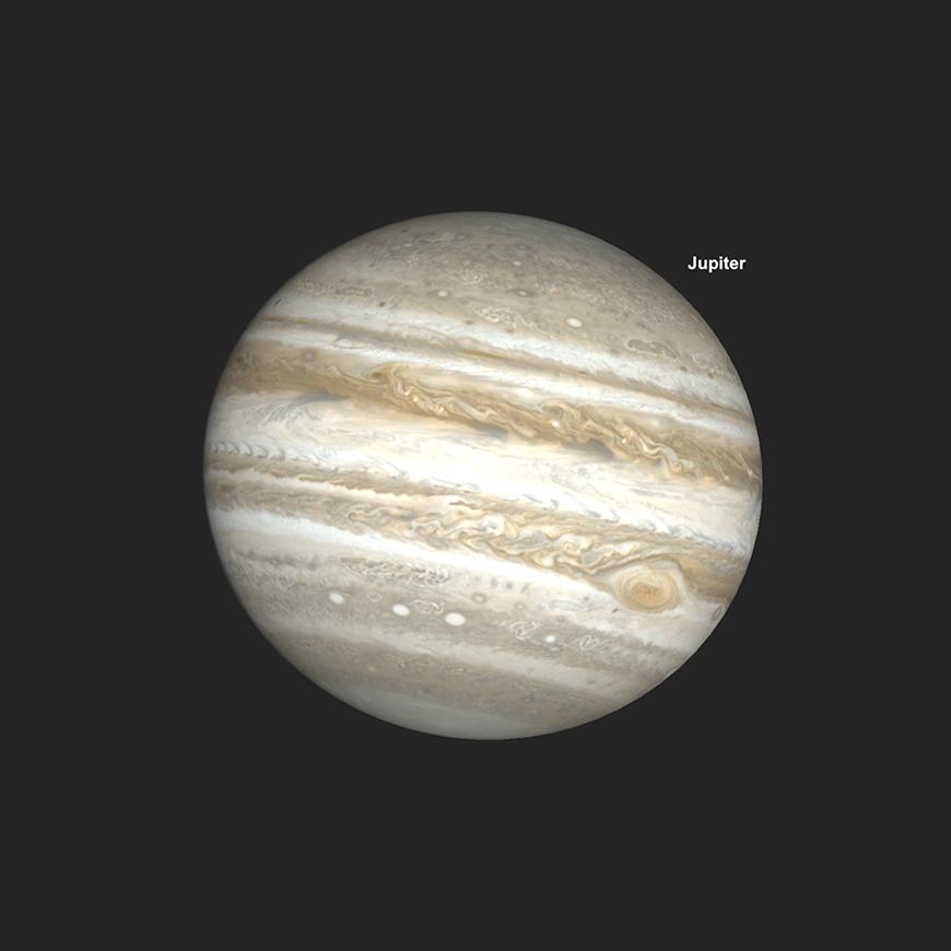 Jupiter, mit GRF Transit