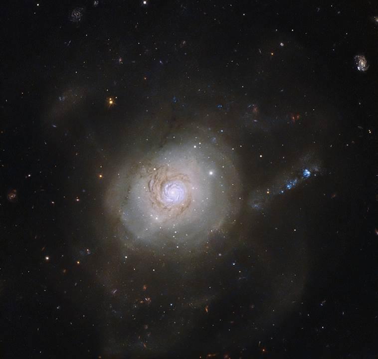 NGC 7252 - HST Image.  Public Domain.