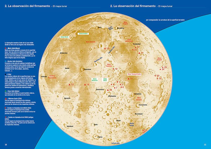 El mapa lunar