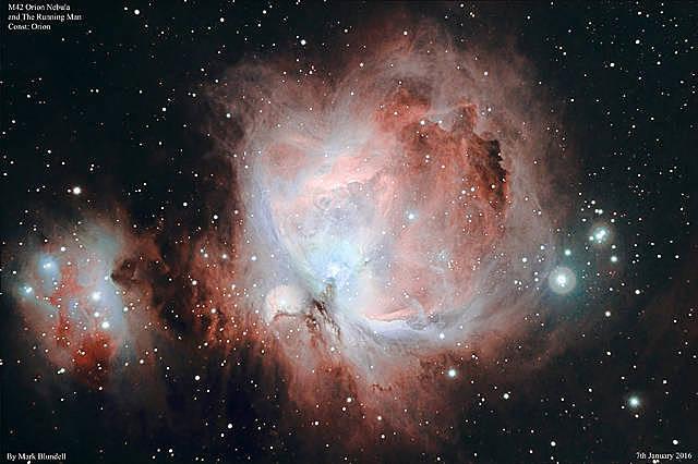 M42, M43 and the Running Man-Nebel