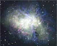 La Nebulosa de Cáncer, M1, tomado por J. Newton