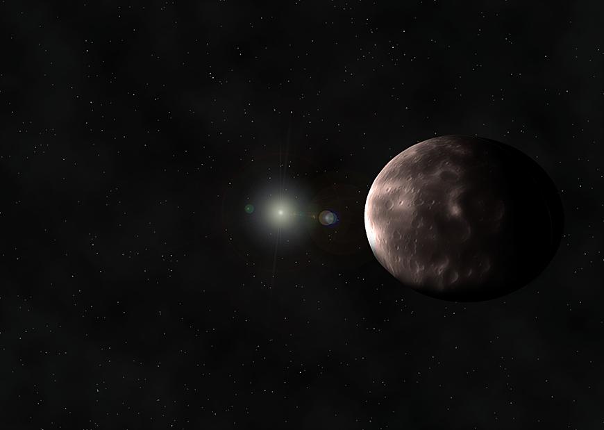 2014/MU69 – künstlerische Impression.