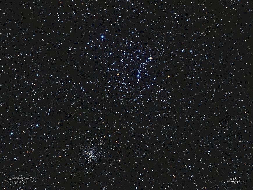 M35 et NGC2158.