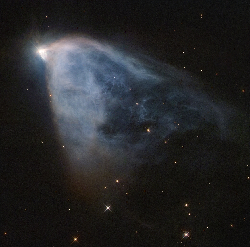 Caldwell 46, brume à réflexion variable de Hubble.