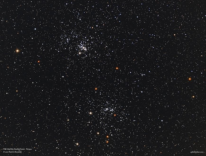 DER Doppelsternhaufen (NGC 869 und NGC 884)