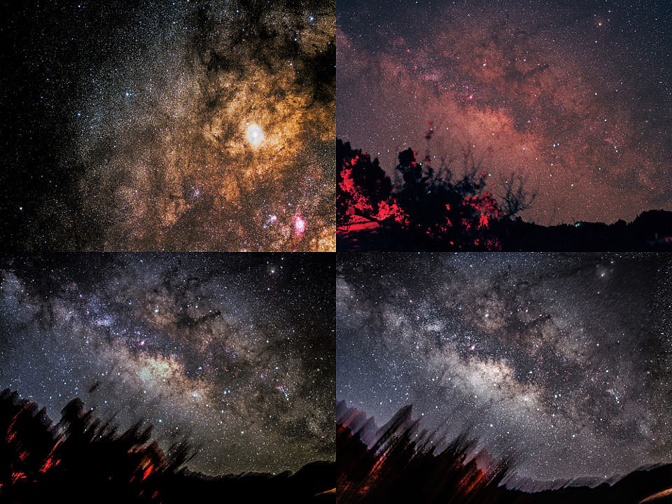 Milchstraßenaufnahmen