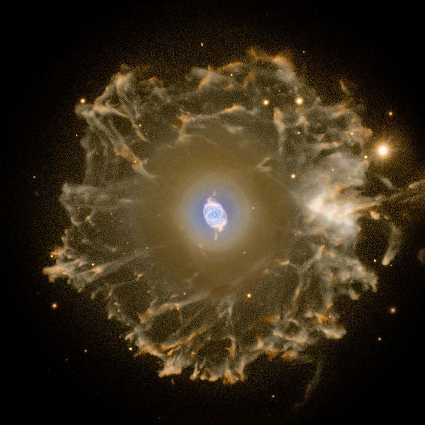 Der Katzenaugennebel, NGC6543